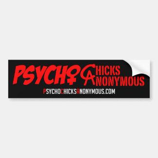 Psycho Chicks Anonymous Sticker #1