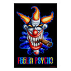Psycho Clown Poster