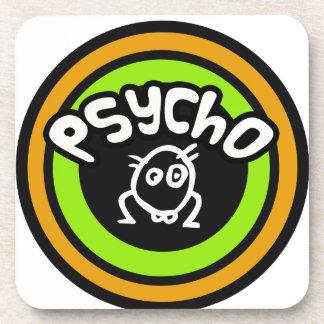 Psycho Doodle Beverage Coaster