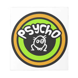 Psycho Doodle Memo Pad