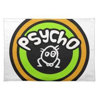 Psycho Doodle Place Mats