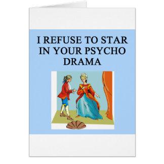psycho drama queen card