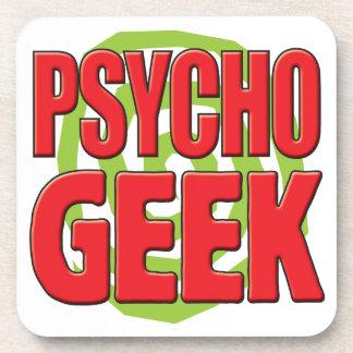 Psycho Geek Drink Coasters