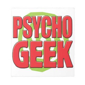 Psycho Geek Memo Notepads