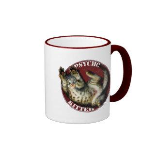 Psycho Kitteh! Ringer Mug