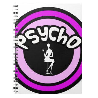 Psycho Lady Spiral Notebooks