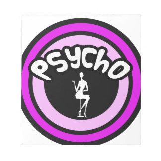 Psycho Lady Memo Pads