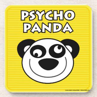Psycho Panda Beverage Coasters