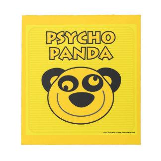 Psycho Panda Notepads