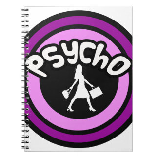 Psycho Shopper Note Books
