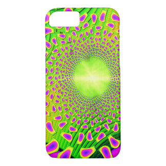 PsychoBerries 3d Glass Fractal iPhone 8/7 Case