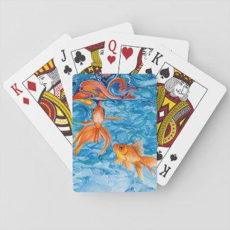 Psychodelic Gold Fish cards by Julie Ann Stricklin