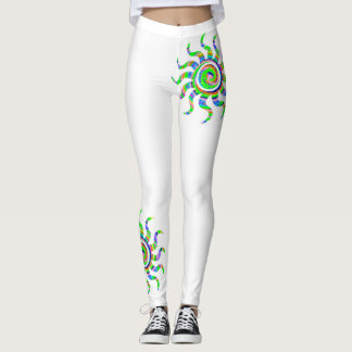 Psychodelic Sun Leggings