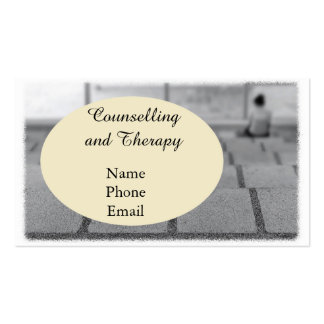 Psychological Clinic or Therapist. Pack Of Standard Business Cards