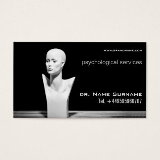 psychological services business card