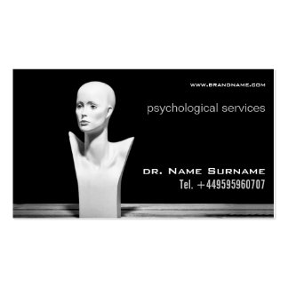 psychological services pack of standard business cards
