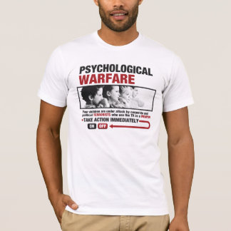 Psychological Warfare Men's T-shirt