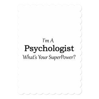 Psychologist 13 Cm X 18 Cm Invitation Card