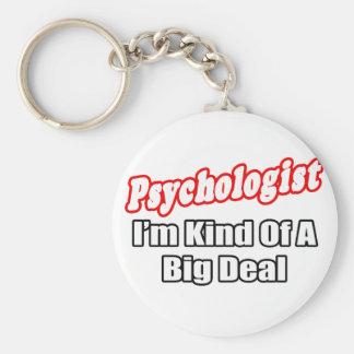 Psychologist...Big Deal Basic Round Button Key Ring