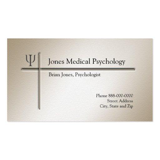Premium psychology business card templates psychologist business card colourmoves