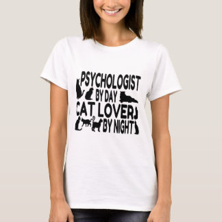 Psychologist Cat Lover T-Shirt