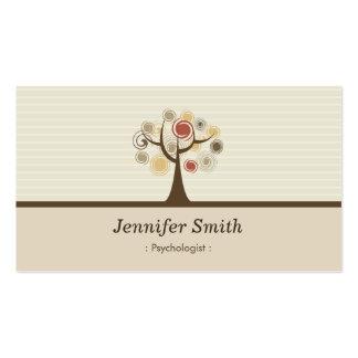 Psychologist - Elegant Natural Theme Pack Of Standard Business Cards