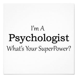 Psychologist 13 Cm X 13 Cm Square Invitation Card
