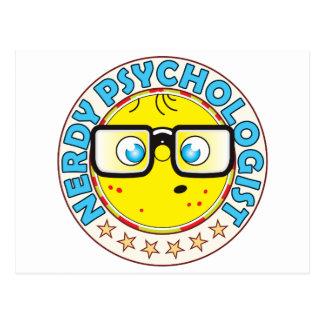 Psychologist Nerdy Postcard