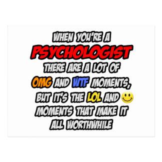 Psychologist .. OMG WTF LOL Postcard