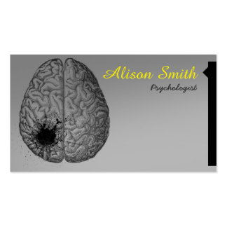 Psychologist Pack Of Standard Business Cards