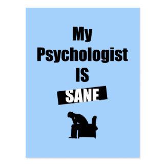 Psychologist Postcard