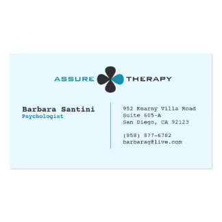 Psychologist Professional Business Card