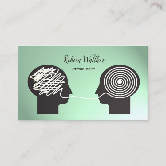 Psychologist psychiatrist doctor private clinic business card psychologist psychiatrist doctor private clinic business card colourmoves