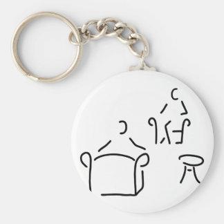 psychologist psychotherapeut psychotherapie key ring