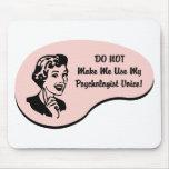 Psychologist Voice Mouse Pads