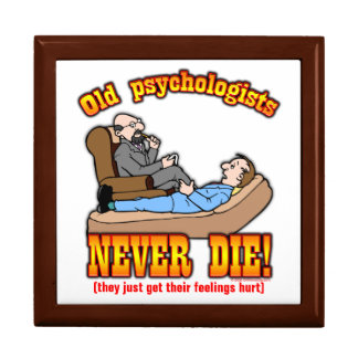 Psychologists Large Square Gift Box