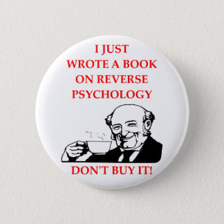 PSYCHOLOGY 6 CM ROUND BADGE