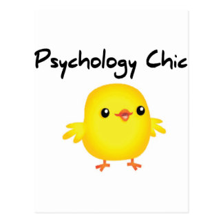 Psychology Chic Postcard