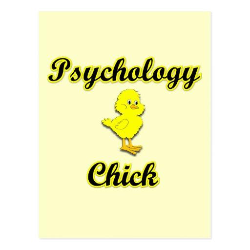 Psychology Chick Postcards