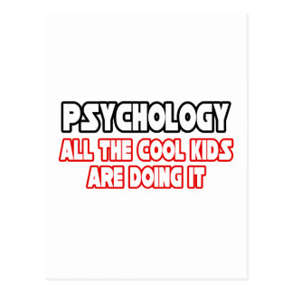 Psychology...Cool Kids Postcard