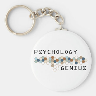 Psychology Genius Key Ring