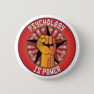 Psychology Is Power 6 Cm Round Badge