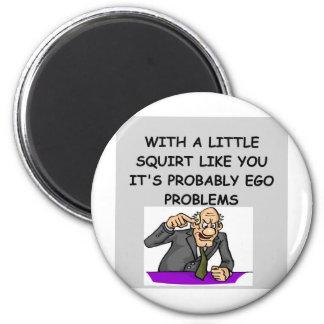 PSYCHology joke 6 Cm Round Magnet