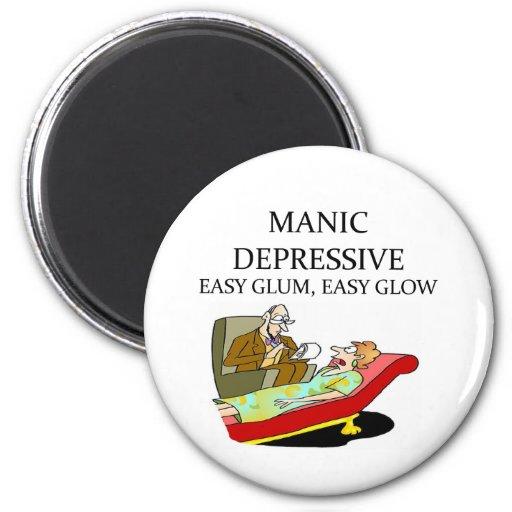 PSYCHOLOGY REFRIGERATOR MAGNET