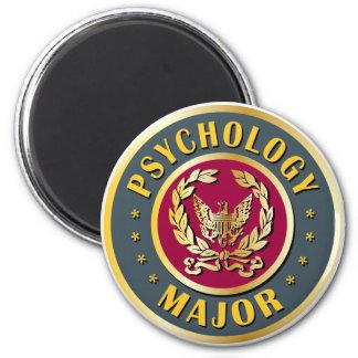 Psychology Major 6 Cm Round Magnet
