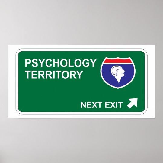 Psychology Next Exit Poster