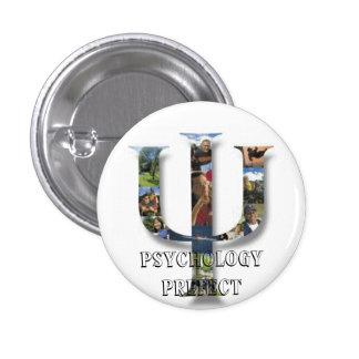 Psychology Prefect 3 Cm Round Badge