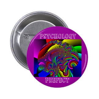 Psychology Prefect 6 Cm Round Badge
