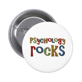 Psychology Rocks 6 Cm Round Badge