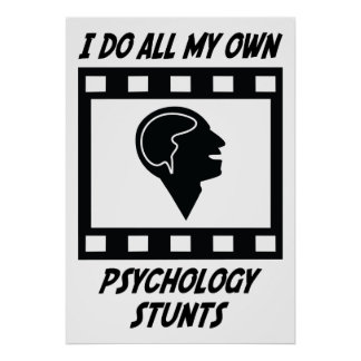 Psychology Stunts Poster